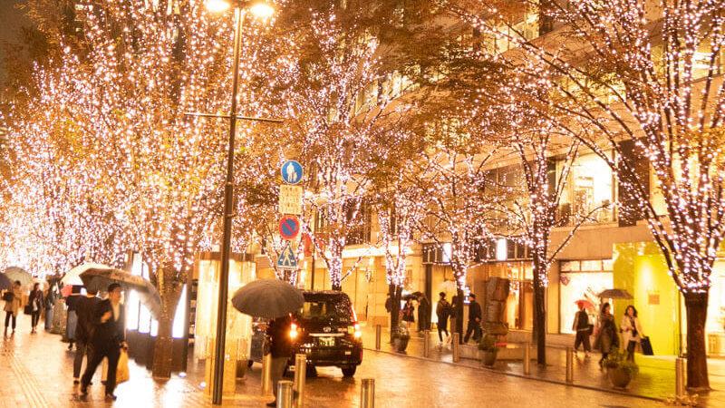2019丸ビルクリスマスツリー点灯式に片瀬那奈さん登場!スターウォーズコラボに注目