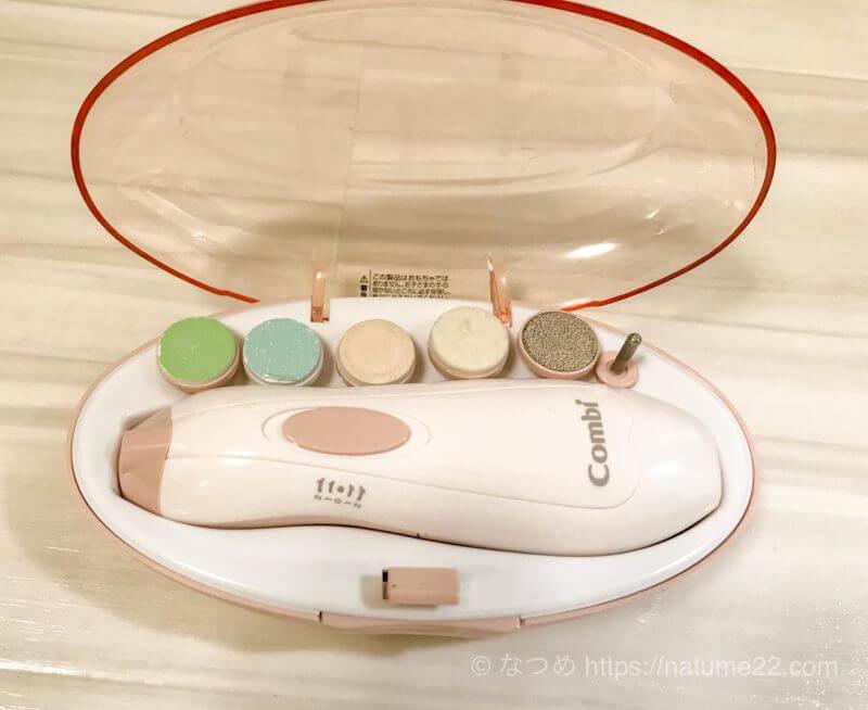 赤ちゃんの爪切りは電動爪やすりが安全で簡単でおすすめ!新生児から使えます